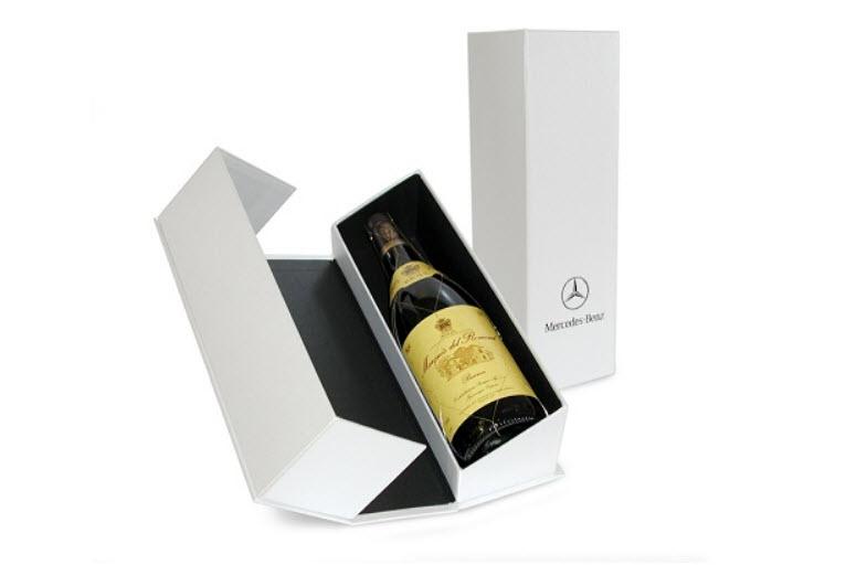 hộp giấy đựng rượu đẹp